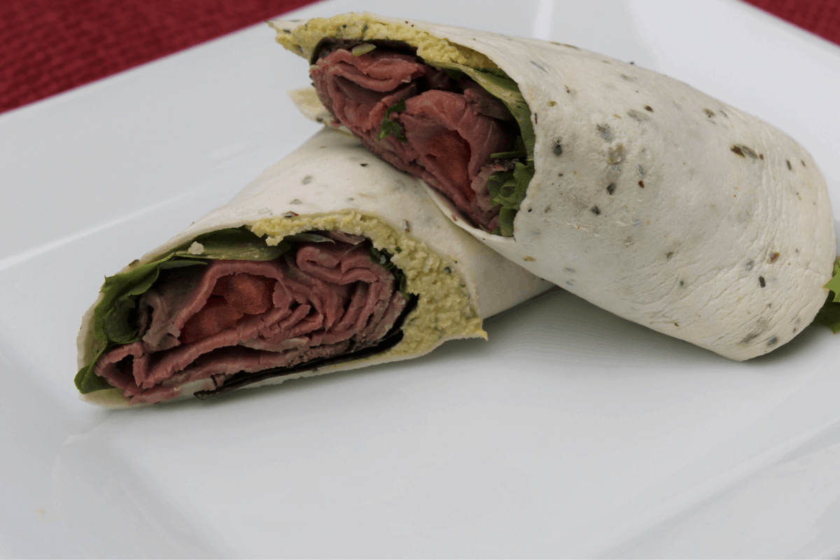 "Roast Beef with Herbed Macadamia ""Ricotta"""