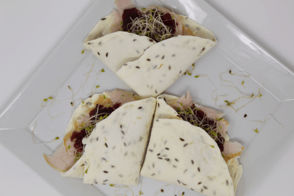 Turkey Cranberry Sprouts Wrap