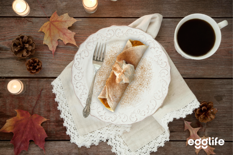 Pumpkin Cheesecake Crepe