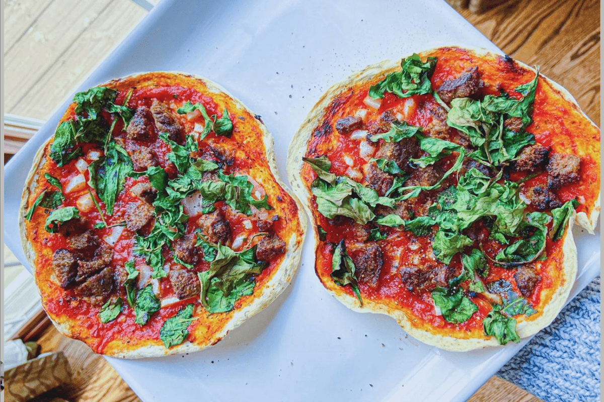 Air Fryer Keto Pizzas