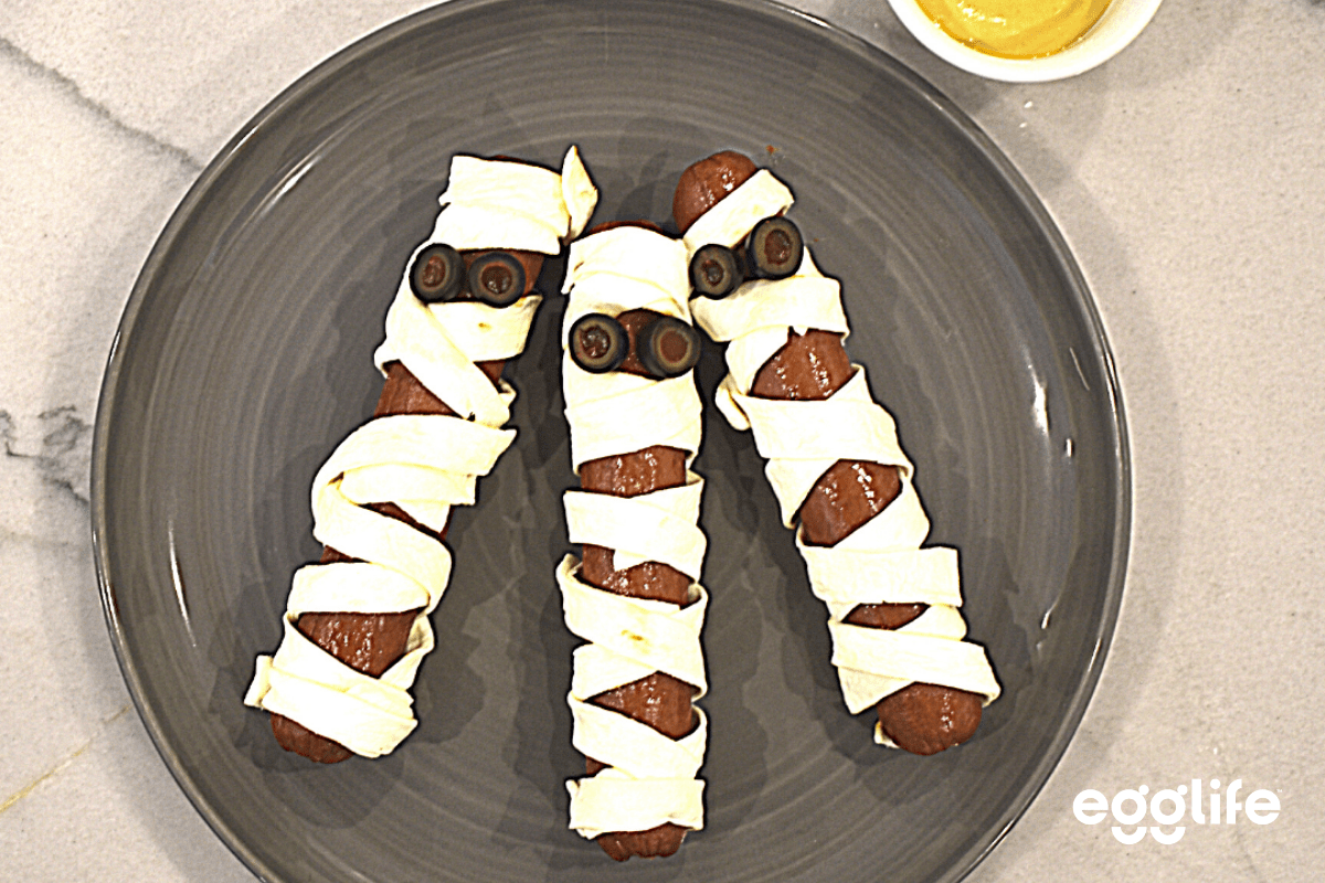 Keto Hot Dog Mummies