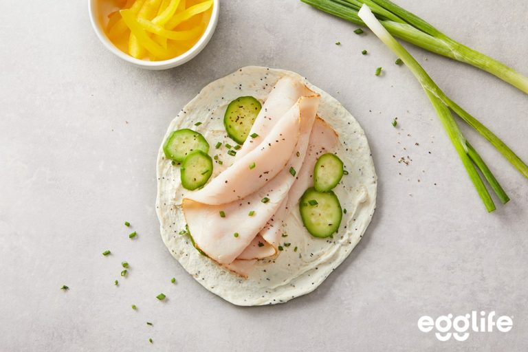 Turkey & Cucumber Wrap