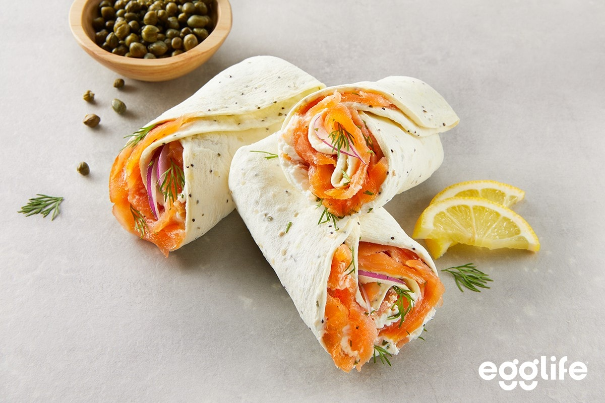 Everything But The Bagel Lox Wrap