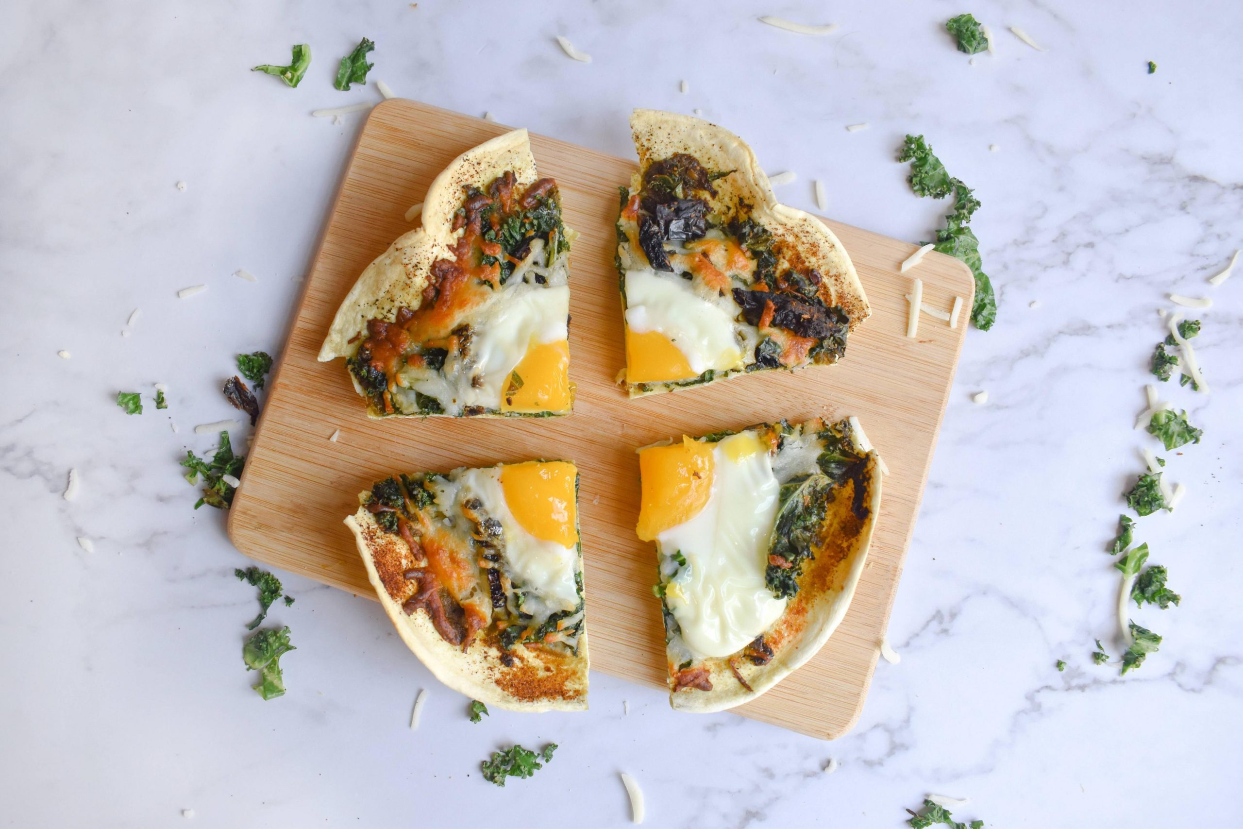 Low Carb Breakfast Pizza